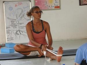 Sonja Appel at Sushumna Teacher Training
